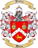 Davies Family Coat of Arms from Wales3