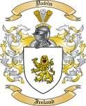 Davin Family Coat of Arms from Ireland
