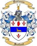 Davinson Family Crest from Scotland