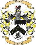 Davis Family Coat of Arms from England2
