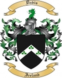 Davis Family Coat of Arms from Ireland