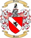 Davis Family Coat of Arms from Wales2