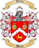 Davis Family Coat of Arms from Wales3