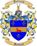 Davisend Family Coat of Arms from Scotland