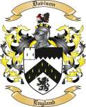 Davison Family Crest from England2
