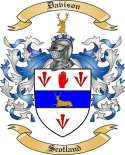 Davison Family Crest from Ireland