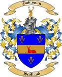 Davisoun Family Crest from Scotland