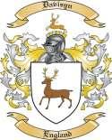 Davisyn Family Coat of Arms from England