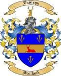 Davisyn Family Coat of Arms from Scotland