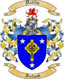 Davlin Family Crest from Ireland