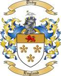 Davy Family Crest from England