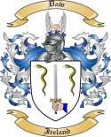 Daw Family Coat of Arms from Ireland