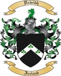 Dawidh Family Crest from Ireland