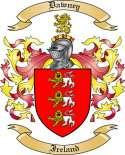 Dawney Family Coat of Arms from Ireland