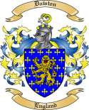 Dawton Family Crest from England