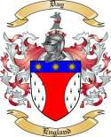 Day Family Coat of Arms from England
