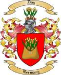 Day Family Coat of Arms from Germany