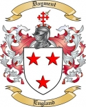 Dayment Family Coat of Arms from England