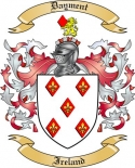 Dayment Family Coat of Arms from Ireland