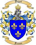 Dayot Family Coat of Arms from France