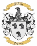 DeAule Family Crest from England