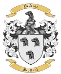 DeAule Family Crest from Scotland2