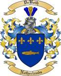 DeBoth Family Coat of Arms from Netherlands