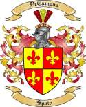 DeCampos Family Crest from Spain