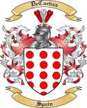 DeCuevas Family Coat of Arms from Spain