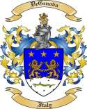 DeGenova Family Crest from Italy