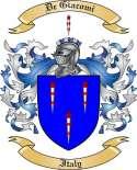 DeGiacomi Family Coat of Arms from Italy