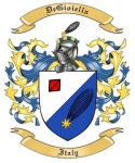 DeGioiella Family Crest from Italy