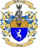 DeGrandi Family Coat of Arms from Italy