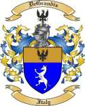 DeGrandis Family Coat of Arms from Italy