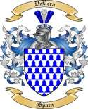 DeVera Family Coat of Arms from Spain