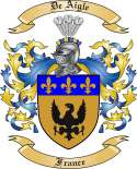 De Aigle Family Crest from France