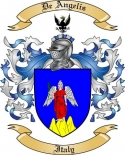 De Angelis Family Coat of Arms from Italy