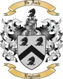 De Aule Family Coat of Arms from England
