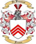 De Bannent Family Crest from France