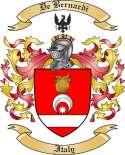 De Bernardi Family Crest from Italy