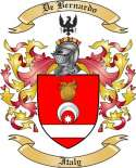 De Bernardo Family Crest from Italy