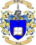 De Biagi Family Crest from Italy