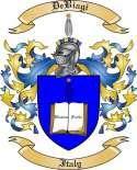 De Biagi Family Crest from Italy