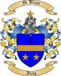 De Blasi Family Crest from Italy2