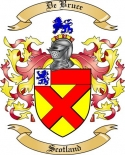 De Bruce Family Coat of Arms from Scotland