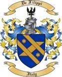 De Filippi Family Coat of Arms from Italy2