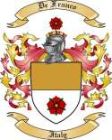 De Franco Family Crest from Italy