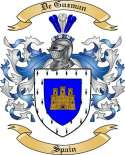 De Guzman Family Coat of Arms from Spain