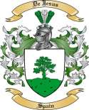 De Jesus Family Coat of Arms from Spain