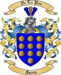 De La Paz Family Coat of Arms from Spain